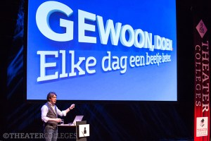 Theatercollege Geert-Jan Bruinsma en Pieter Zwart