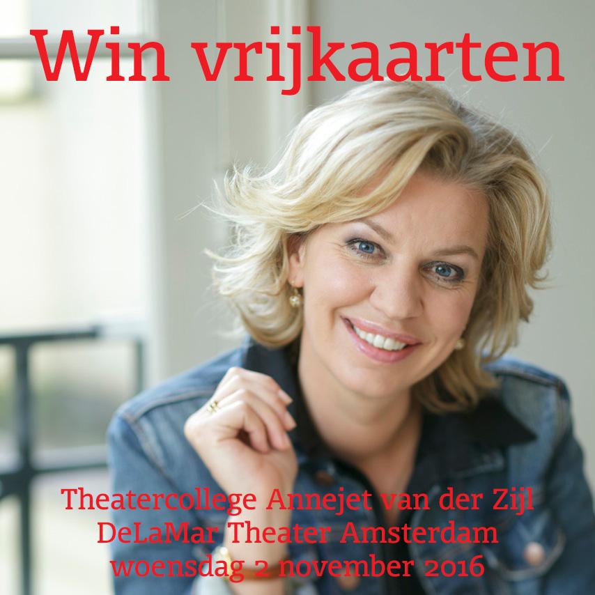 Win kaarten Annejet van der Zijl