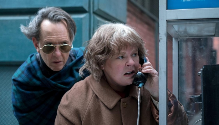 Can you ever forgive me? Donderdag 16 mei om 14:00 uur en 20:00 uur en op dinsdag 21 mei om 14:00 uur en 20:00 uur