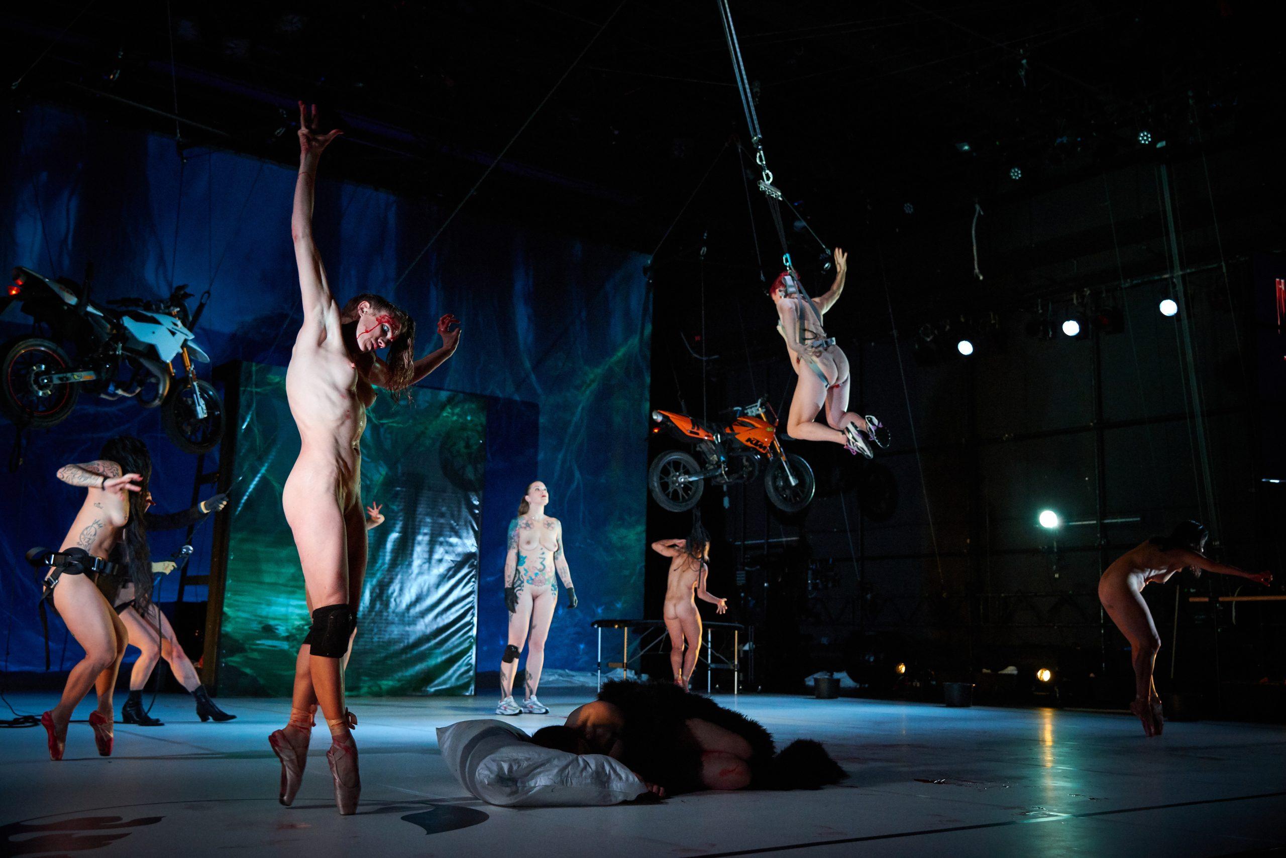 TANZ – Eine sylphidische Träumerei in Stunts