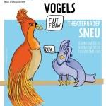 Theatergroep SNEU speelt Paradijsvogels - poster 2018 - design Gitta de Zwart