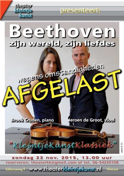 1 Beethoven AFGELAST