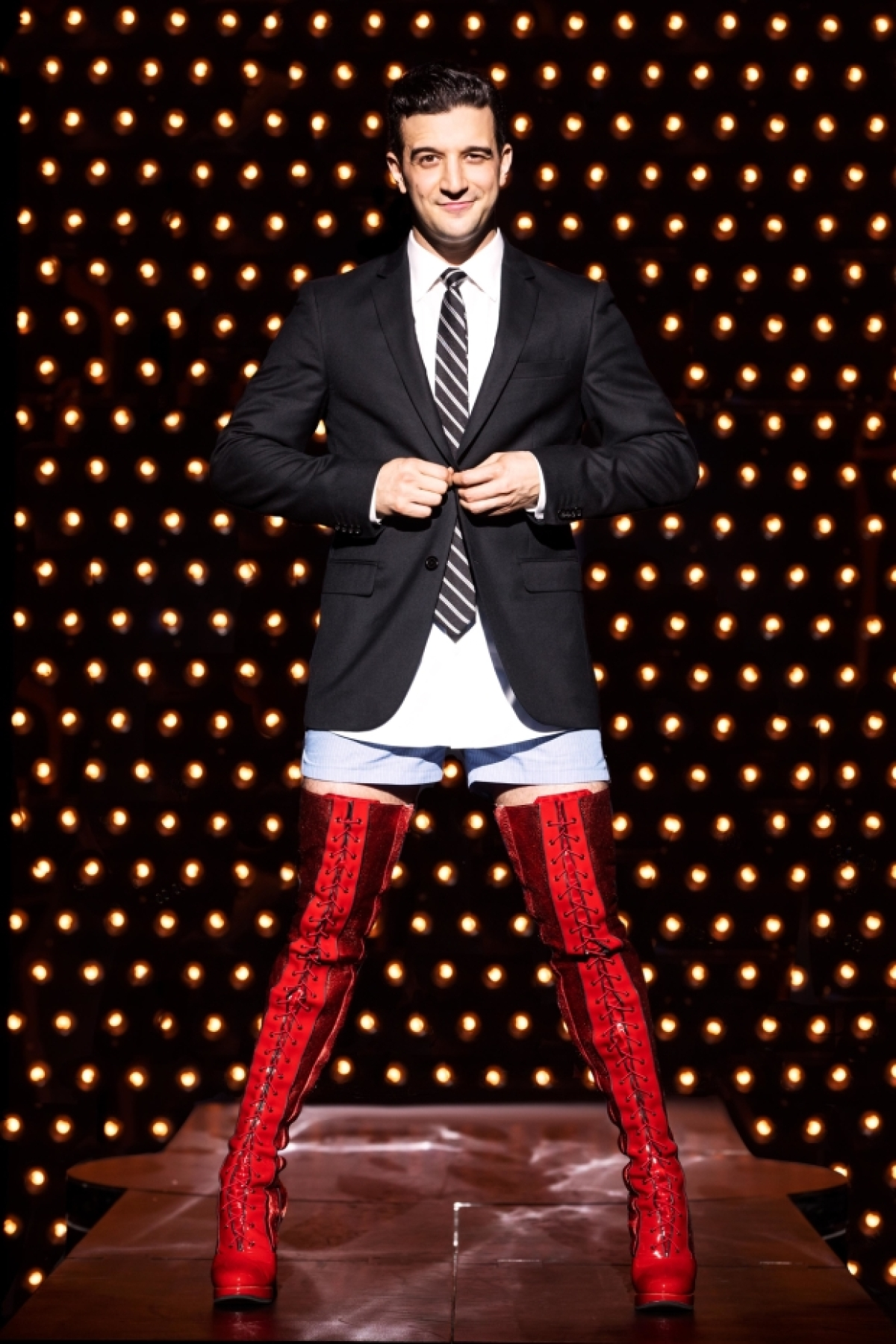 5 Questions With Kinky Boots Star Mark Ballas TheaterMania
