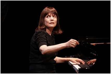Mona Golabek stars in The Pianist of Willesden Lane which launches the inaugural 5A Season at 59E59Theaters (Photo credit: Carol Rosegg)