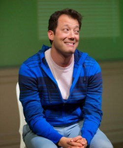 John Tartaglia in Buyer and Cellar