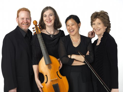 Parthenia Viol Consort 2015 (Photo credit: William Wegman)