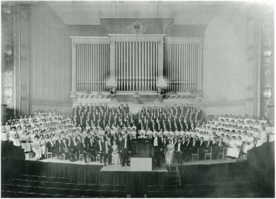 Boston Symphony Hall, 1915