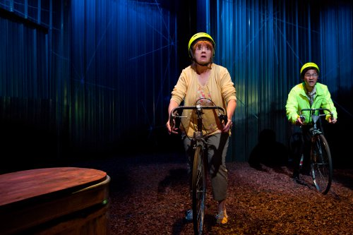 "Annie Golden and Daniel K. Isaac in a scene from ""UNDERLAND"" (Photo credit: Hunter Canning)"