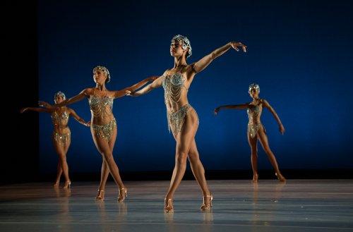 "Ballet Hispanico in a scene from ""Show.Girl."" (Photo credit: Paula Lobo)"