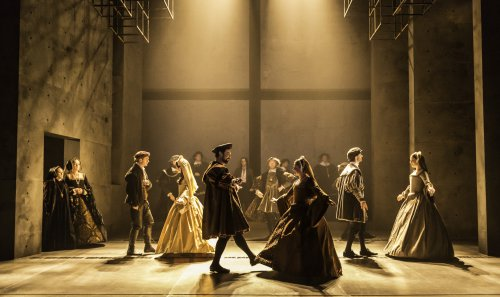 """The Company of """"Wolf Hall"""" (Photo credit: Johan Persson)"""