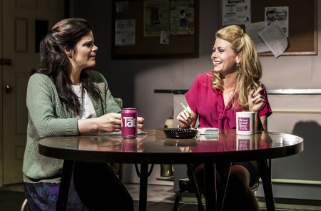 "Diane Davis and Liv Rooth in a scene from Melissa Ross' ""Nice Girl"" (Photo credit: Monique Carboni)"
