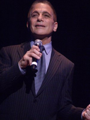 """Tony Danza as he recreated """"Out of the Sun"""" from """"Honeymoon in Vegas"""" (Photo credit: Maryann Lopinto)"""