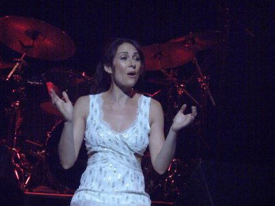 Guest star Laura Benanti at The Town Hall (Photo credit: Maryann Lopinto)