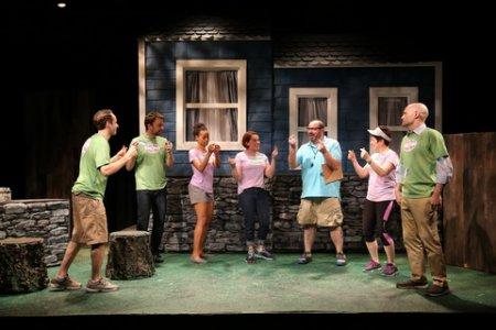"The Cast of ""Office Politics"" (Photo credit: Carol Rosegg)"