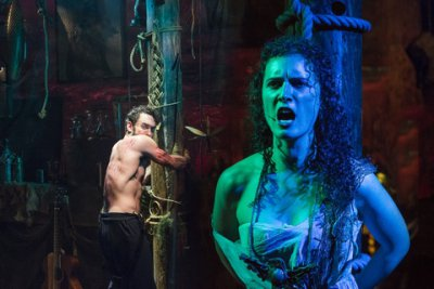 "Will Turner and Eloïse Eonnet in a scene from ""SeaWife"" (Photo credit: Caitlin McNaney)"