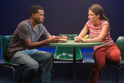 "Genesis Oliver and Molly Carden in a scene from ""How to Live on Earth""(Photo credit: Hunter Canning)"
