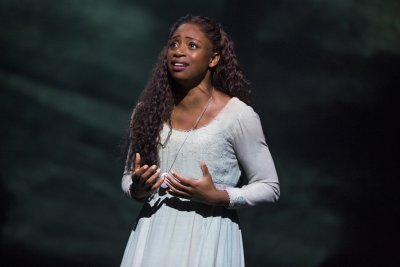 "Montego Glover as Fantine in ""Les Miserables"" (Photo credit: Matthew Murphy)"
