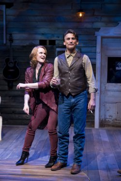 "Kate Baldwin and Bob Stillman in a scene from ""Songbird"" (Photo credit: Jenny Anderson Photography)"