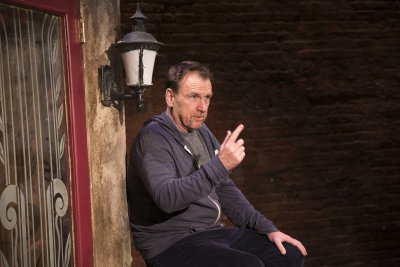 """Colin Quinn in a scene from """"The New York Story"""" (Photo credit: Mike Lavoie)"""
