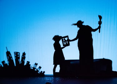 "Pilobolus in a scene from ""Shadowland"" (Photo credit: Ian Douglas)"