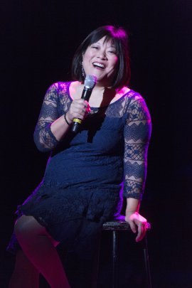 """Ann Harada as she appeared in 92Y's Lyrics & Lyricists Series: """"A Funny Thing Happened: Songs from the Road to Broadway!"""" (Photo credit: Richard Termine)"""