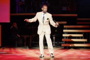 "Maurice Hines in a scene from ""Tappin' Thru Life"" (Photo credit: Carol Rosegg)"