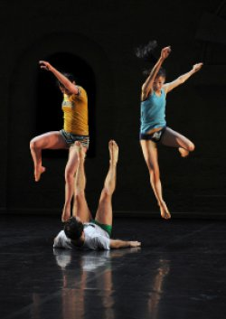 "A scene from Ballet Preljocaj's ""Empty Moves"" (Photo credit: Jean-Claude Carbonne)"