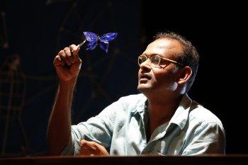 """Ramesh Meyyappan in a scene from """"Butterfly"""" (Photo credit: Carol Rosegg)"""