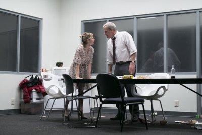 "Jeff Daniels and Michelle Williams in a scene from ""Blackbird"" (Photo credit: Brigitte Lacombe)"