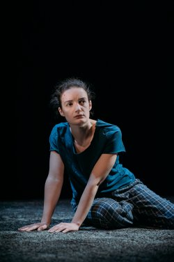 "Aoife Duffin in a scene from in a scene from ""A Girl is a Half-formed Thing"" (Photo credit: Mihaela Bodlovic)"