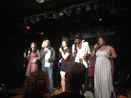 """The ensemble of """"The Lost Ones: A New Musical"""" (Photo credit: Michael Sadowitz)"""