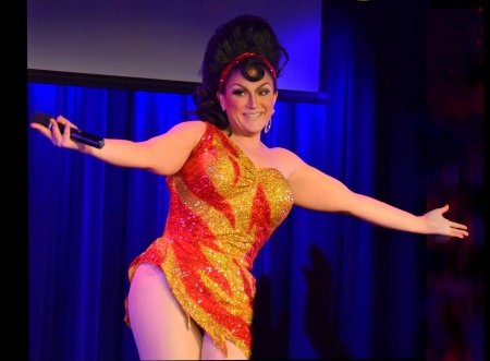 "BenDeLaCreme in a scene from ""Inferno A-Go-Go"" (Photo credit: Jason Russo)"