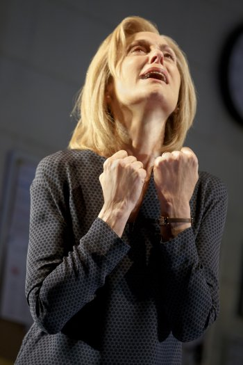 Resized 350 - .Judith_Light_fists upraised in_Neil_LaButes_ALL_THE_WAYS_TO_SAY_I_LOVE_YOU_(Joan_Marcus)
