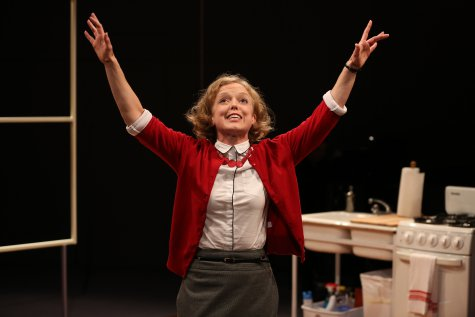 "Nancy Anderson in a scene from ""The Pen,"" part of Premieres' ""Inner Voices"" (Photo credit: Carol Rosegg)"