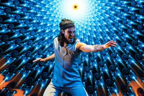 "Bill Lewis Jr. in a scene from ""The Portal"" in a scene from ""The Portal"" (Photo credit: Russ Rowland)"