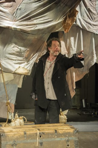 "Benjamin Evett in a scene from ""Albatross"" (Photo credit: Carole Goldfarb)"
