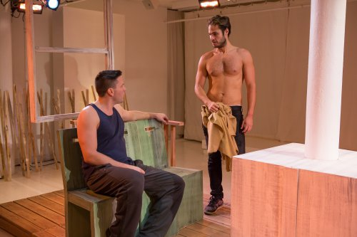 "Brian Gligor and Marc Sinoway in a scene from ""Boys of a Certain Age"" (Photo credit: Hunter Canning)"