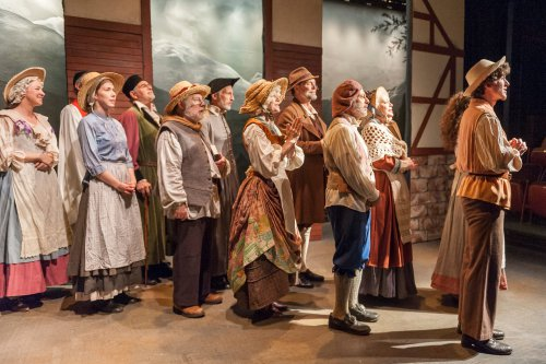 "The cast of ""Leah, The Forsaken"" at Metropolitan Playhouse (Jacob J. Goldberg Photography)"