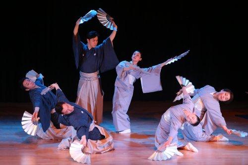 A scene from Nihon Buyo Dance (Photo credit: Julie Lemberger)