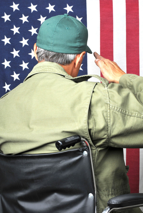 Can a veteran apply for medical benefits through the Department of Veterans Affairs?