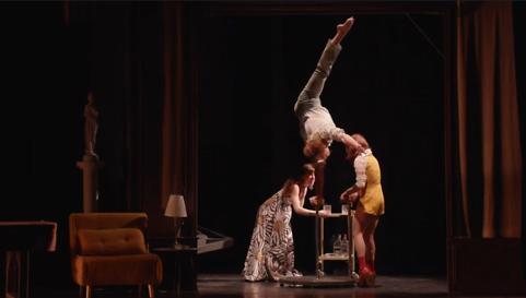 La Nuit du Cerf par le Cirque Le Roux