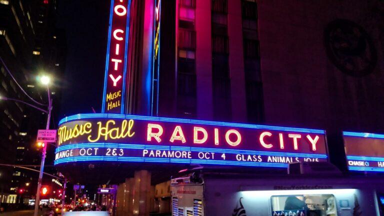 E'lyse Murray radio city music hall
