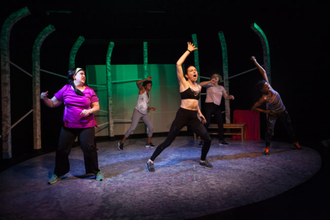 The cast of Bully at Interrobang Theatre Company