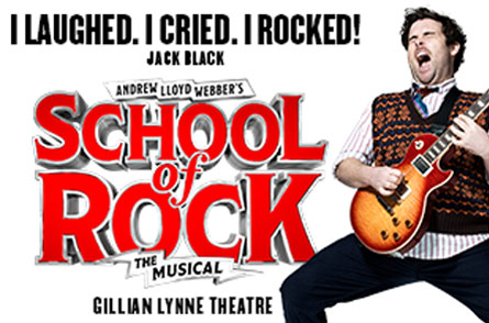 School of Rock The Musical Ends Run at the Gillian Lynne Theatre