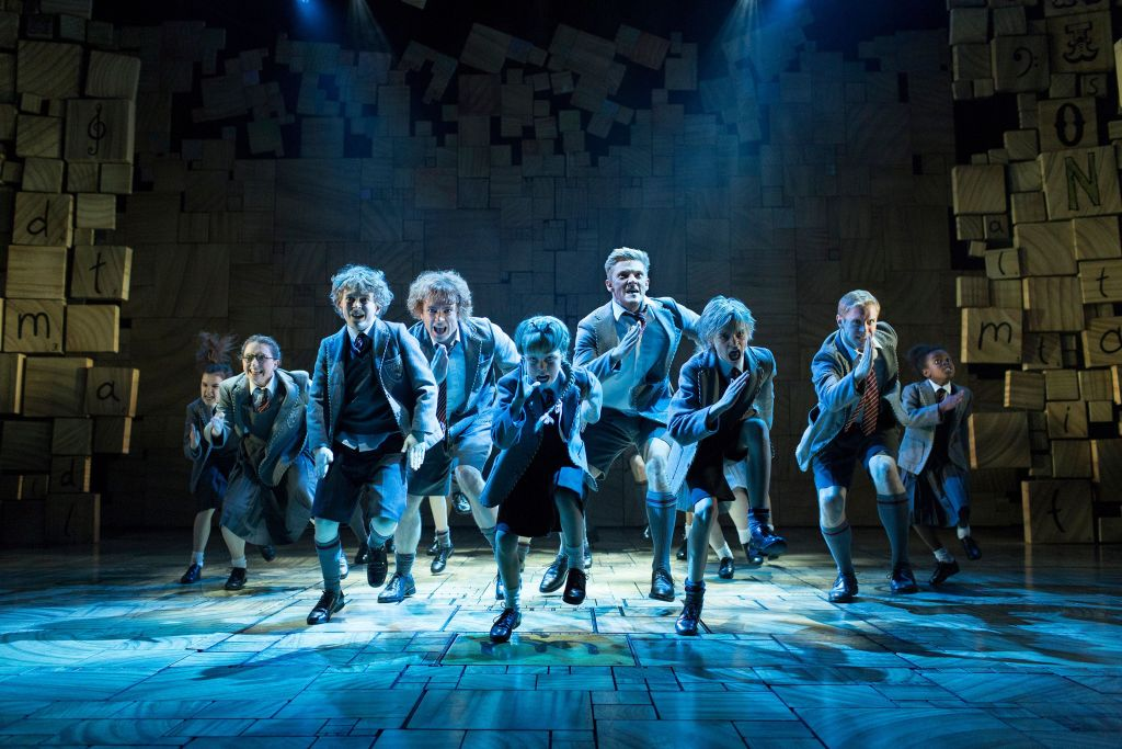 Royal Shakespeare Company's production of Matilda The Musical_Credit Helen Maybanks