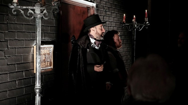 """<div class=""""category-label-review"""">Review</div><div class=""""category-label"""">/</div>The Flanagan Collective's 'A Christmas Carol' at the Arts Theatre"""