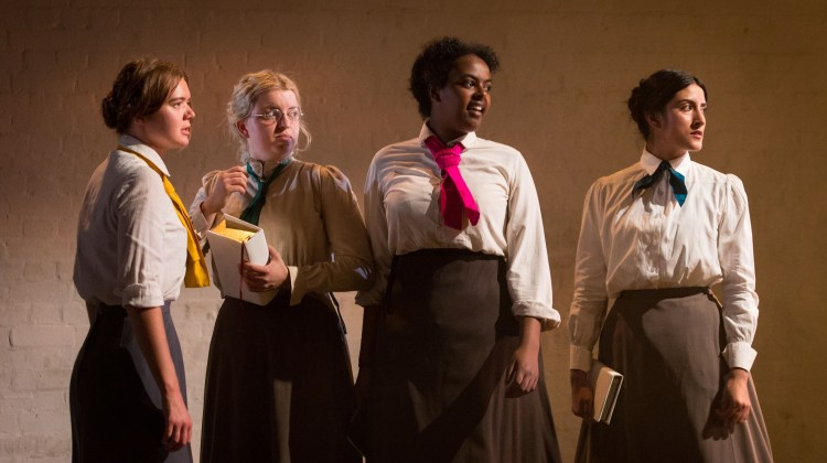 "<div class=""category-label-review"">Review</div><div class=""category-label"">/</div>Blue Stockings at the Yard Theatre"