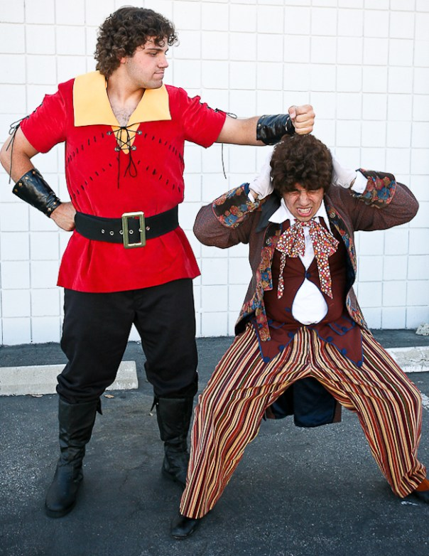 Gaston and LeFou from BEAUTY AND THE BEAST