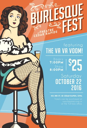 Burlesque Fest featuring the Va Va Voom