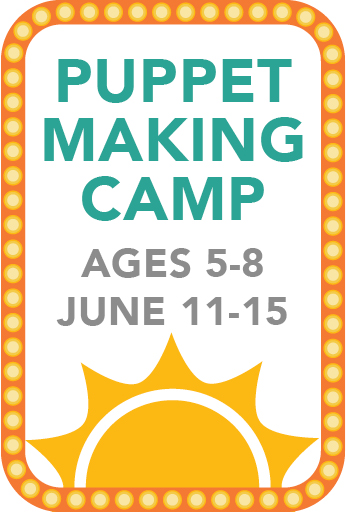 Puppet Making Camp (Age: 5-8)